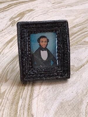 frame ring (gentleman caller in black)