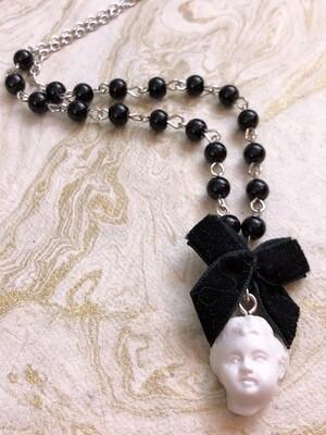 doll parts necklace (head)
