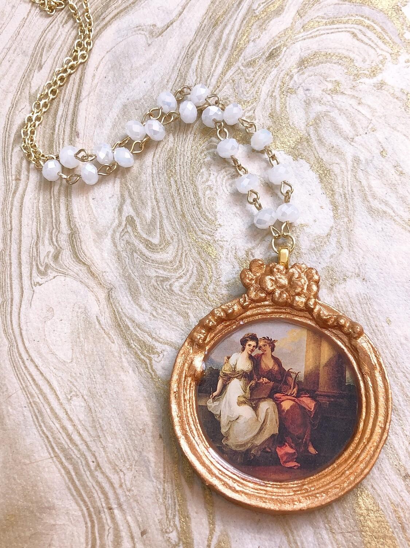 frame necklace (allegory)