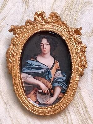 frame brooch (élisabeth)