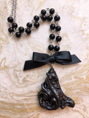 architecture necklace (dragon)