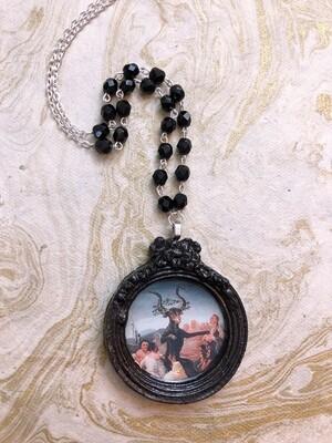 frame necklace (sabbath)
