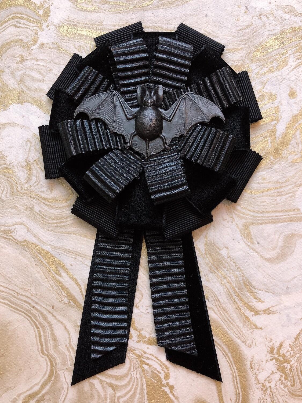 black bat rosette