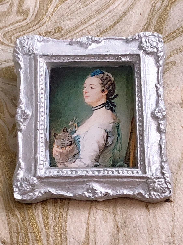 frame brooch (madame pinceloup)