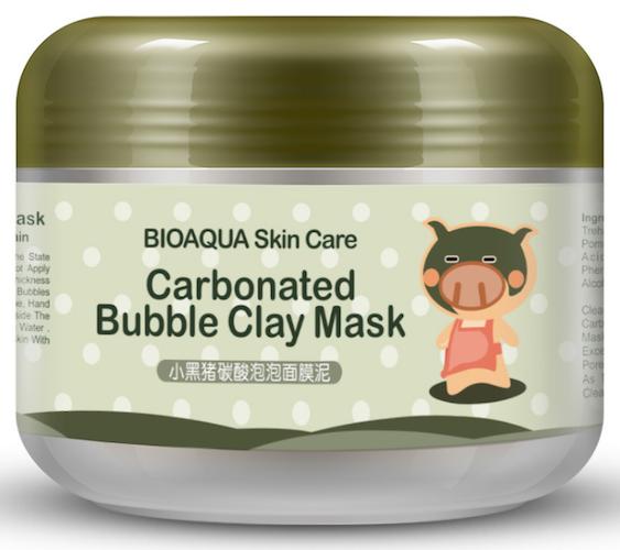 Очищающая пузырьковая маска «BIOAQUA»