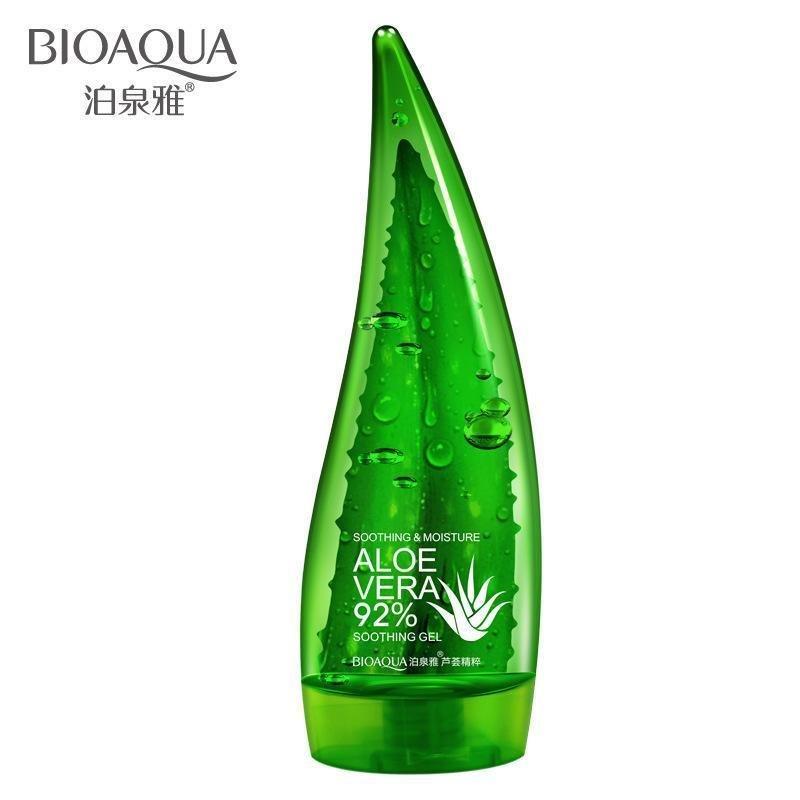 Увлажняющий гель с натуральным соком алоэ и гиалуроновой кислотой