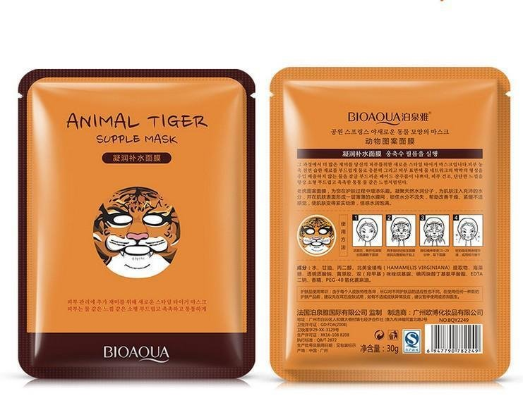 Питательная маска Animal Face Tiger