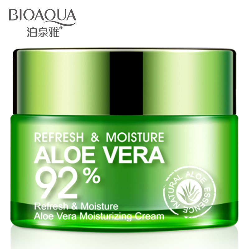 Освежающий и увлажняющий крем-гель для лица и шеи Aloe Vera