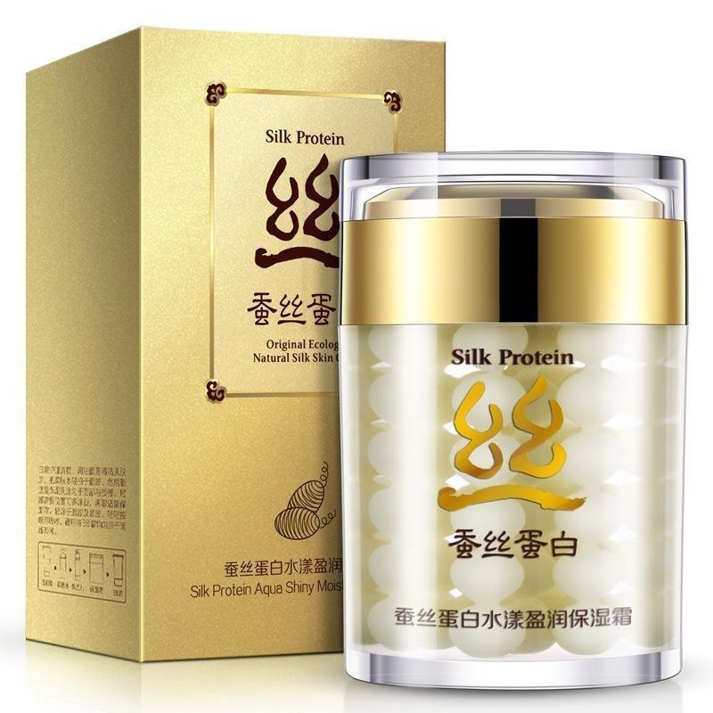 Увлажняющий крем для лица Silk Protein