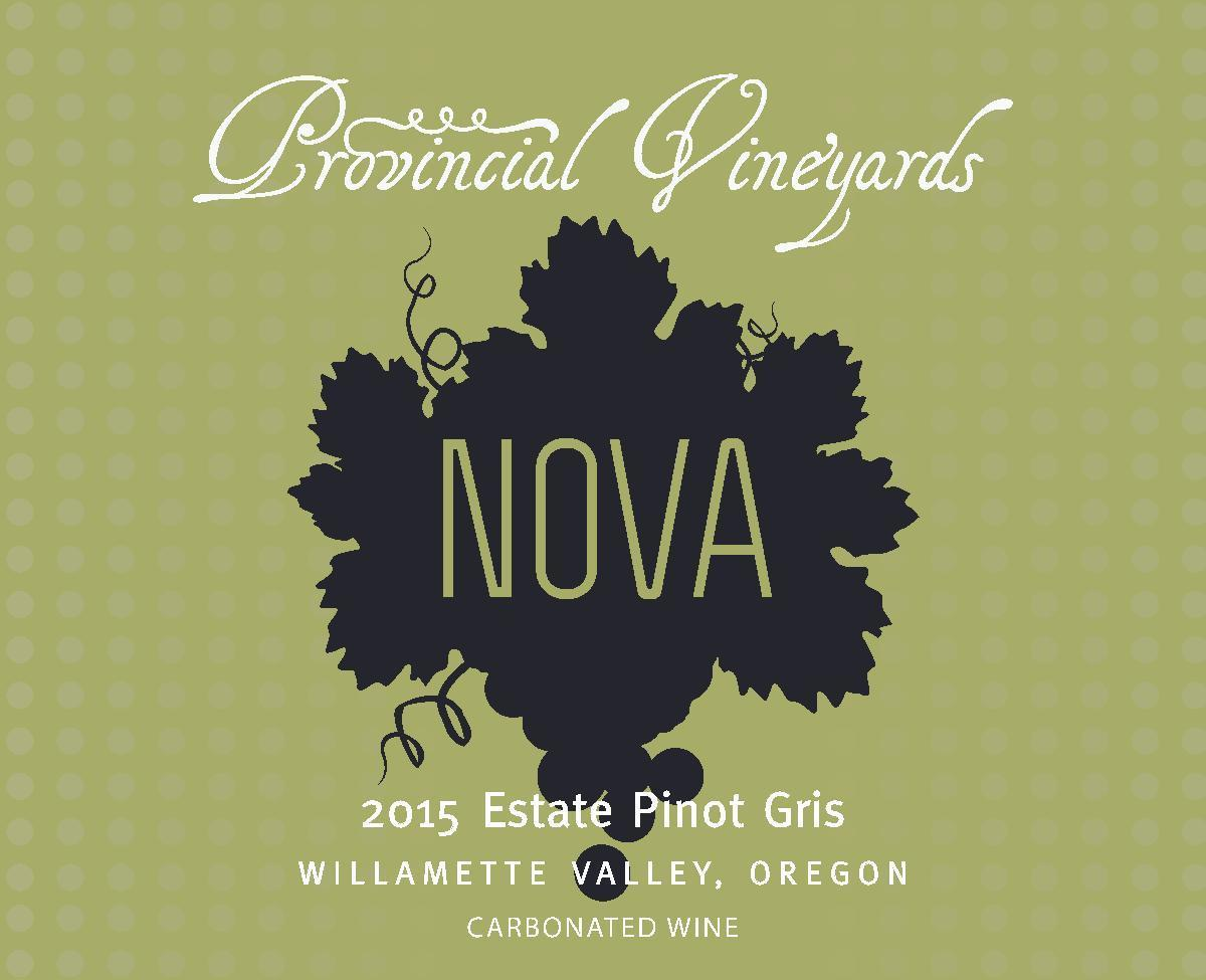 2015 Nova Estate Pinot Gris (carbonated wine) 00010