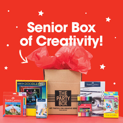Art Gift Set for Seniors (8-12 years)