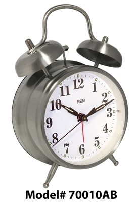 Ben Twin Bell Alarm Clock