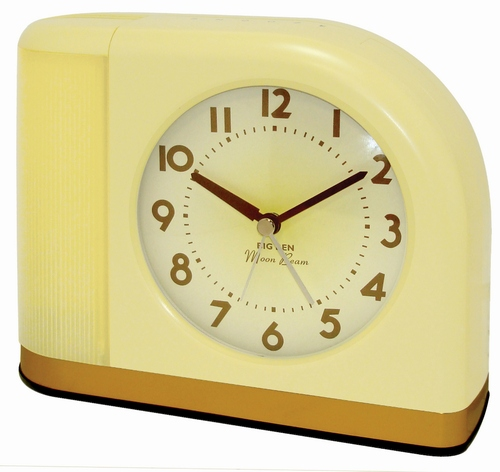 Westclox Big Ben Moon Beam Alarm Clock Yellow 43000X 43000X