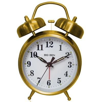 Westclox Big Ben Twin Bell Alarm Clock 70010G 70010G