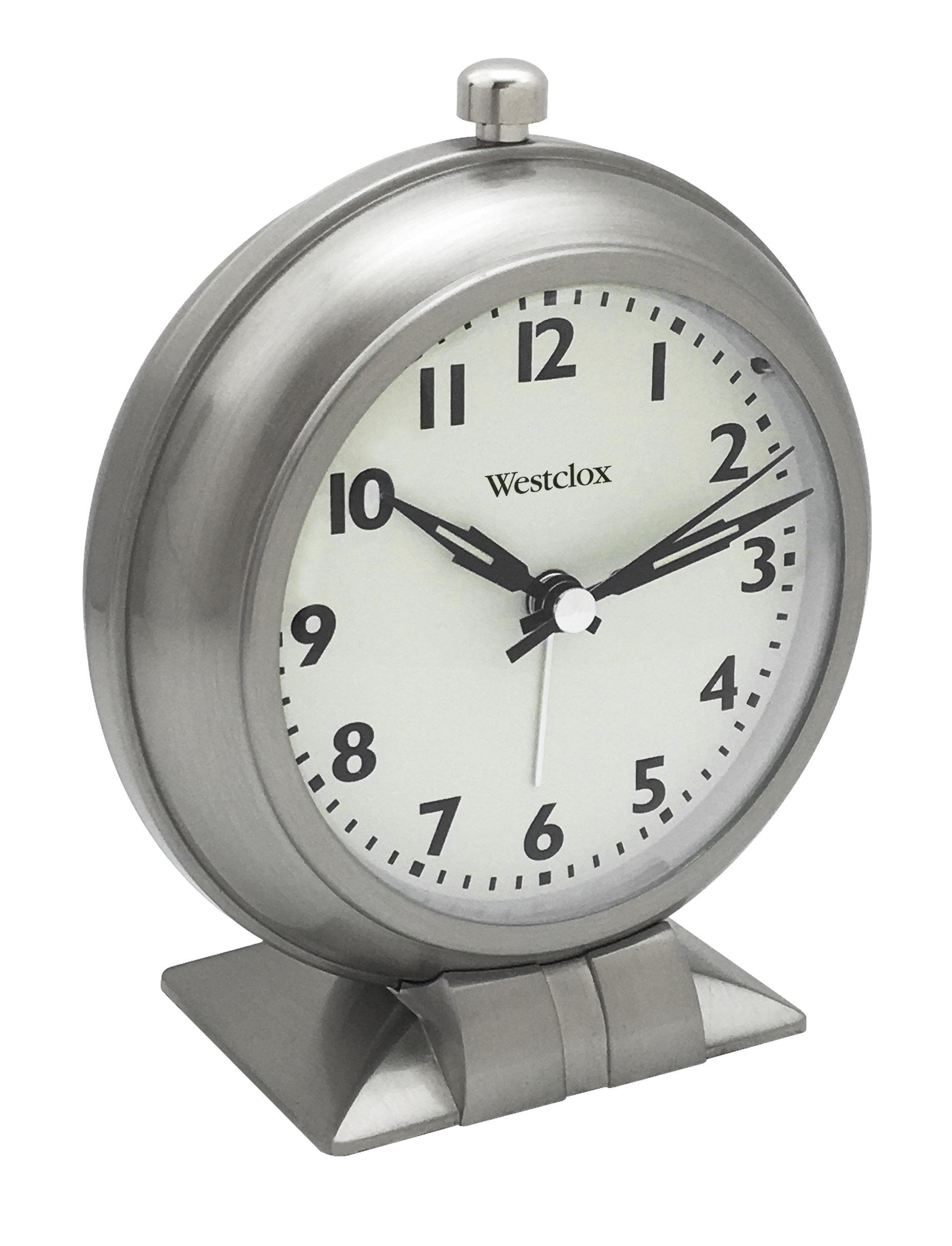 Westclox Classic Alarm Clock Full Size 47602 47602