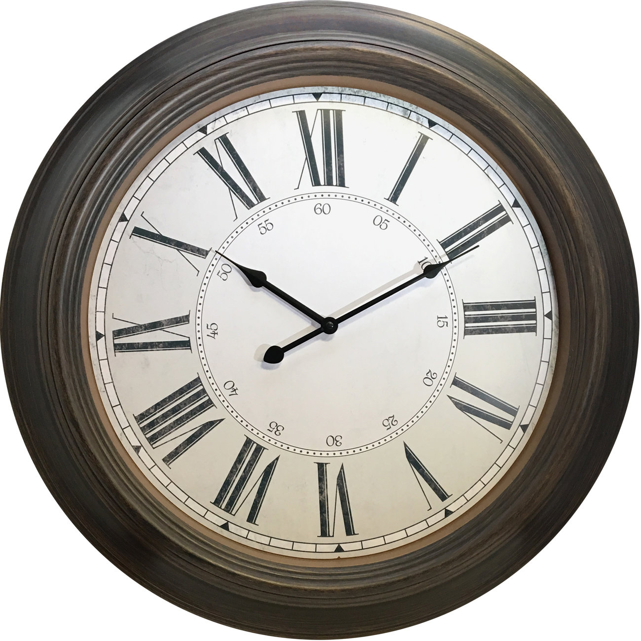 "Westclox 24"" Classic Vintage Style Oversized Wall Clock 32213VBK"