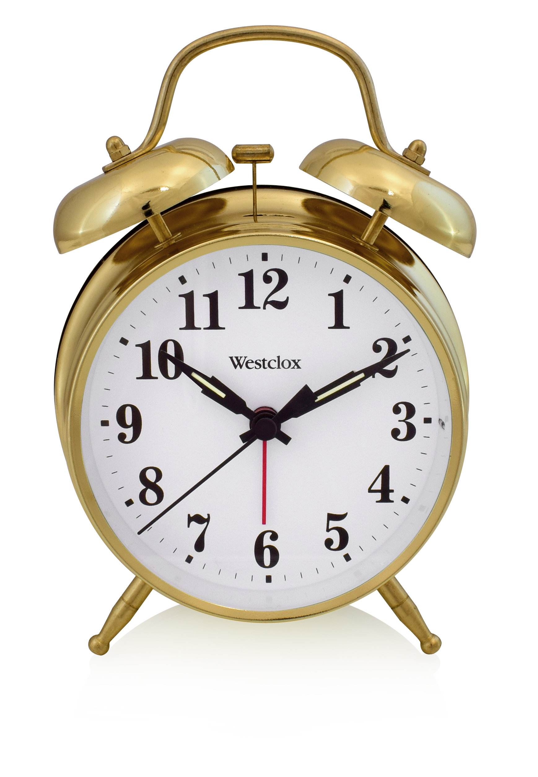 Westclox  Twin Bell Alarm Clock 70010G 70010G