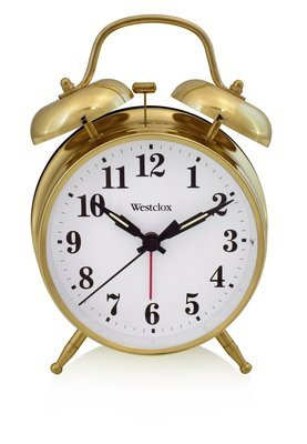 Westclox  Twin Bell Alarm Clock 70010G