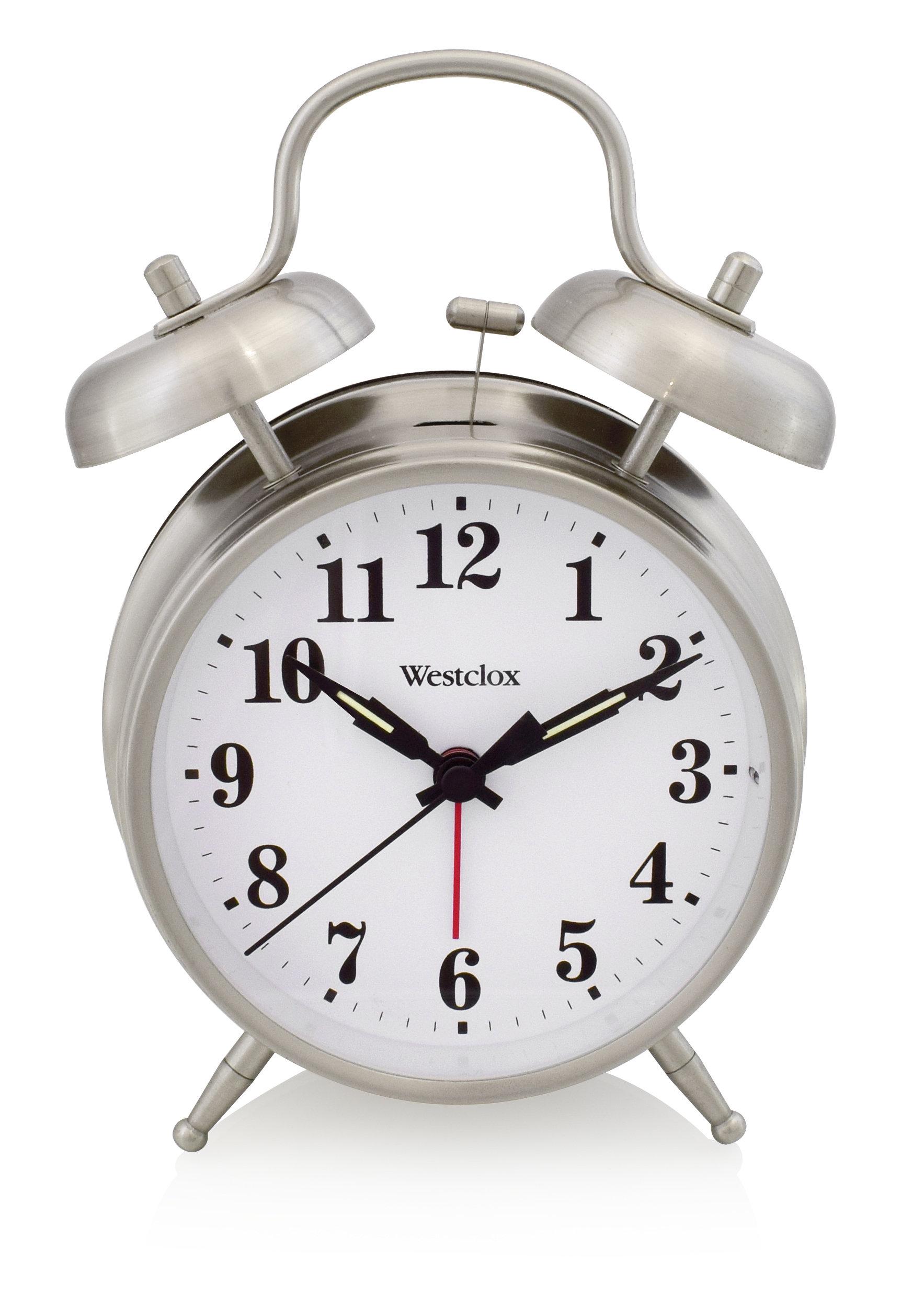 Westclox Twin Bell Alarm Clock 70010 70010