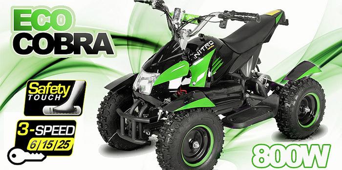 Eco Cobra Mini Kinderquad 800 Watt, 515001564