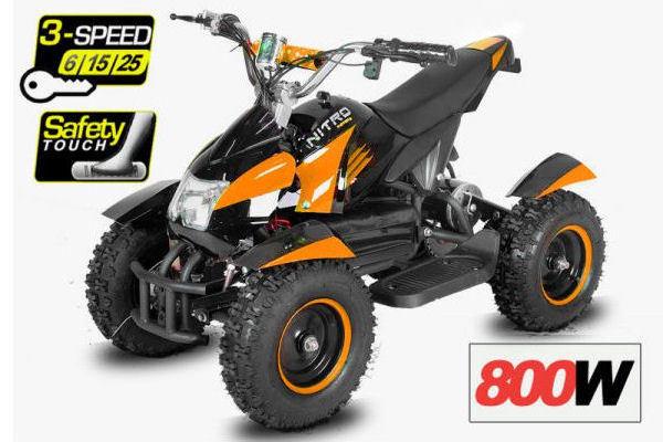 Eco Cobra III orange-schwarz