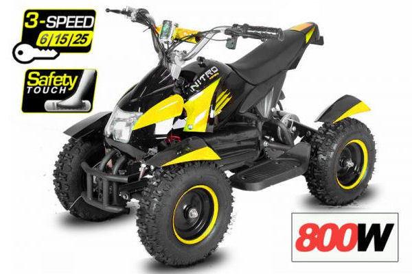 Eco Cobra III gelb-schwarz