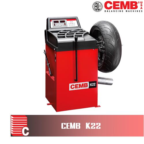 เครื่องถ่วงล้อมอเตอร์ไซค์ CEMB รุ่นK22