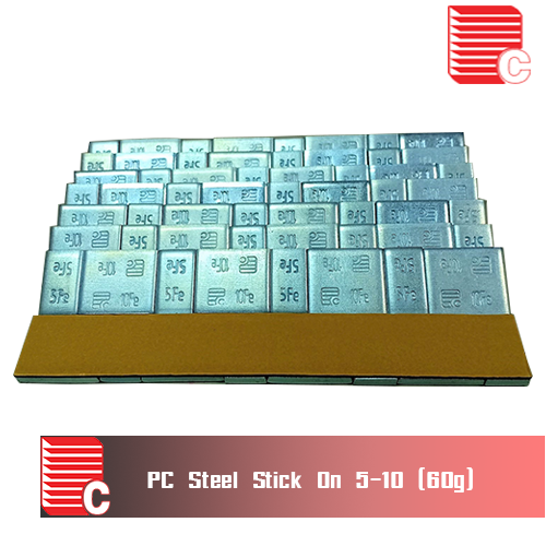 PC Steel Stick On 5-10 (60G)