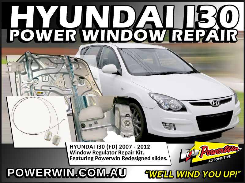 Hyundai i30 Window Regulator Repair Kit