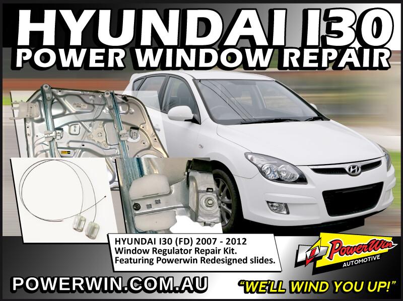 Hyundai i30 Window Regulator Repair Kit RHF