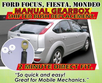 Ford Focus, Fiesta, Mondeo Manual Gearbox Shifter Cable Bush Replacement