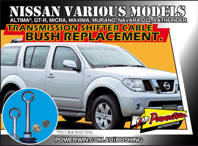 Nissan Altima, Maxima, Pathfinder and more Transmission shift cable end bush.