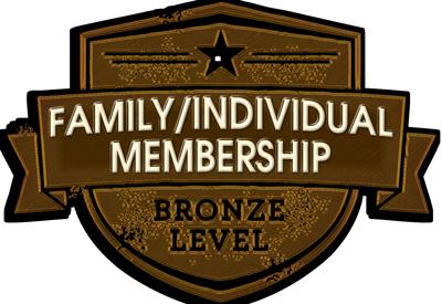 Annual Individual/Family Membership 3-member-bronze