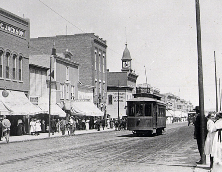 Original Trolley Photo