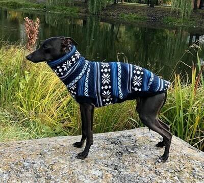 Dog warm t-shirt  (different colours, fur inside )