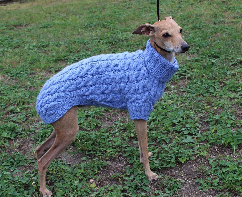 """Sweater """"Wool fantasy"""" blue 41-43 SALE"""