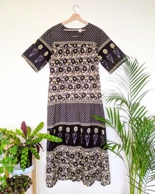 INDIAN COTTON BLOCK PRINT DRESS