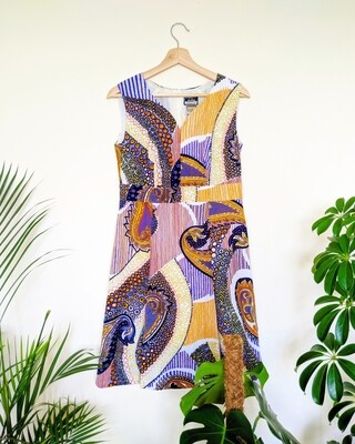 PSYCHEDELIC DAYDREAM 60S DRESS