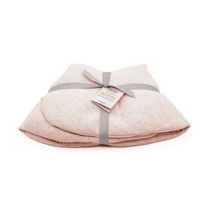 Linen Heat Pack Wrap Blush