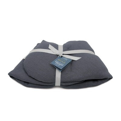 Linen Heat Pack Wrap Charcoal