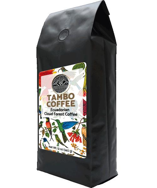 Coffee from Ecuadorian Cloud Forest - Dark Roast Whole Coffee Beans 00000