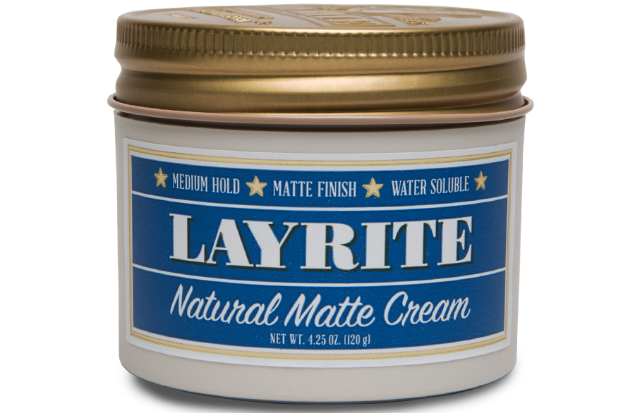 LAYRITE NATURAL MATTE CREAM - 4.25 OZ Layrite-natural-matte-cream