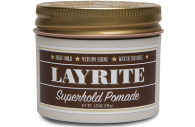LAYRITE SUPERHOLD POMADE - 4.25 OZ