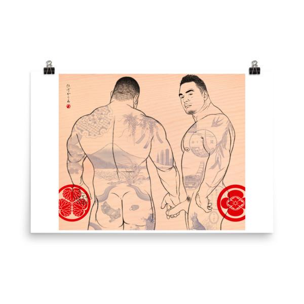 Art Poster (this way) XL