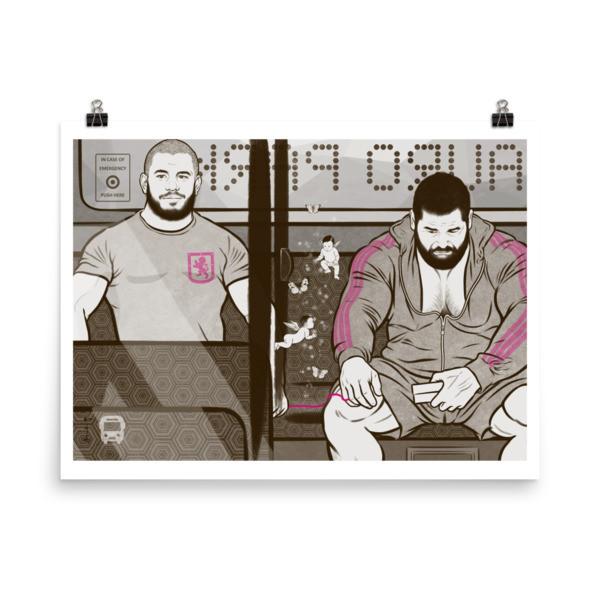 Art Poster (Fall in Love) L