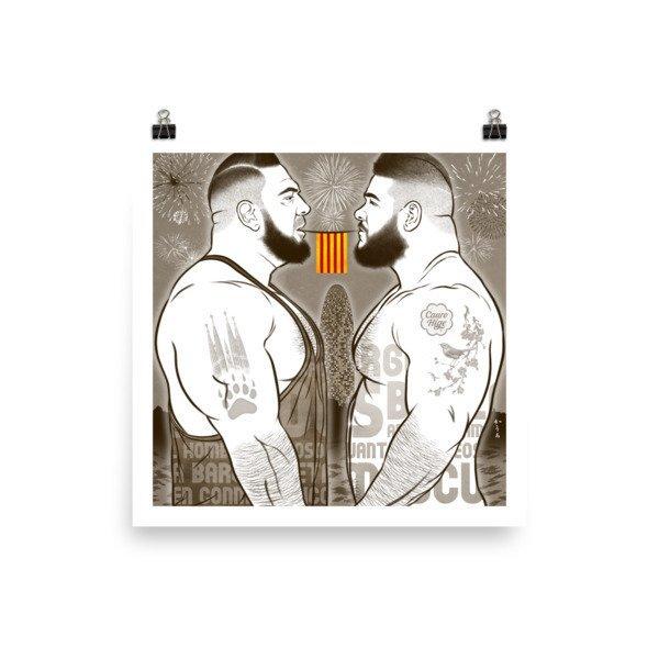 Art Poster (Bearcelona) M