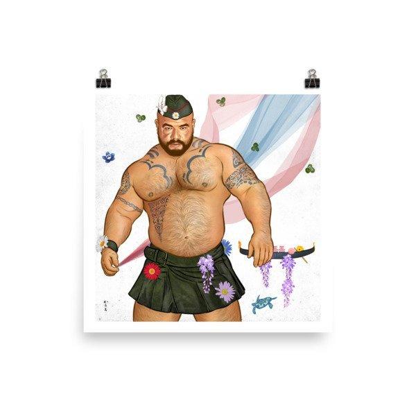 Art Poster (Aquafresh) M