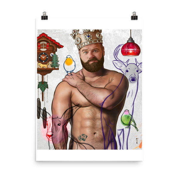 Art Poster (Prince Charming) L
