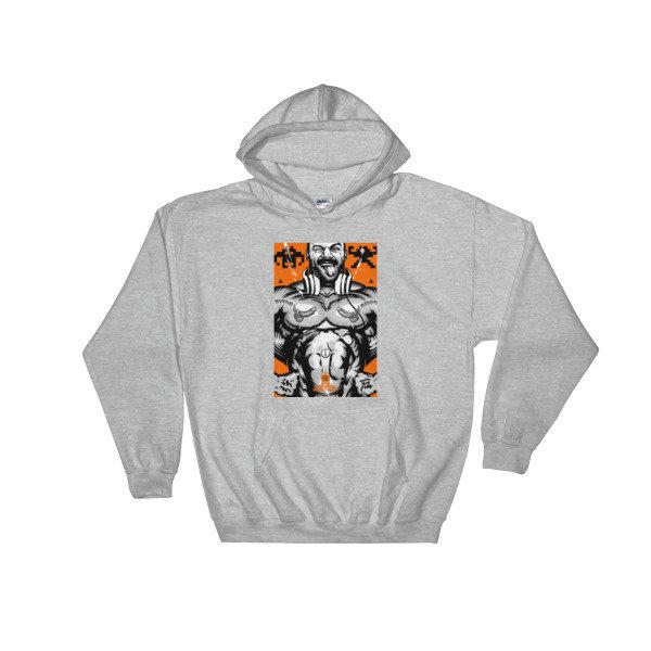 Hooded Sweatshirt (Rough Rider) S-5XL