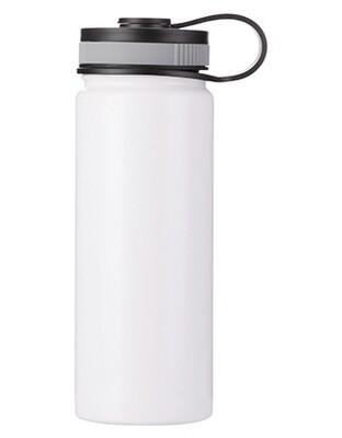 Personalizirana bijela metalna termosica 550ml/18oz